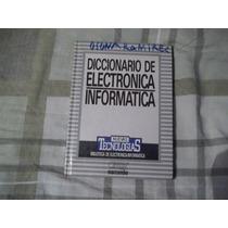 Libro Diccionario De Electrónica-informática Orbys.