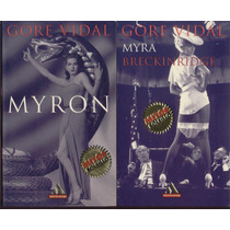 Myra Breckinridge Y Miron De Gore Vidal 2 Libros