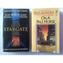 Stargate / On A Pale Horse 2 Libros Un Precio C&f En Ingles