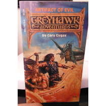 Libro Greyhawk Artifact Of Evil Dungeons & Dragons Tsr