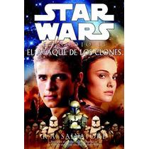 Star Wars Episodio 2: El Ataque De Los Clones Portada Dura