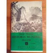 David Thomson. Historia Mundial. 1914-1950.