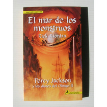 Rick Riordan Percy Jackson Mar De Los Monstruos Libro 2013