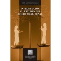 Libro Introducción Al Estudio Del Juicio Oral Penal