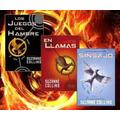 Trilogía Los Juegos Del Hambre En Llamas Sinsajo