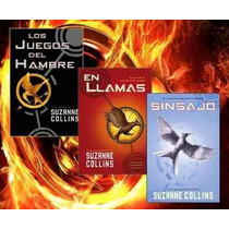 Trilogía Los Juegos Del Hambre En Llamas Sinsajo Fn4