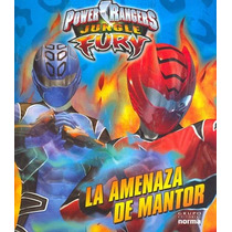 La Amenaza De Mantor Power Rangers Jungle Fury - Sandra (ed.