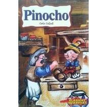Libro Pinocho, Carlo Collodi, Clásicos Infantiles