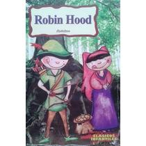 Libro Robin Hood, Novela Aventuras, Clásicos Infantiles