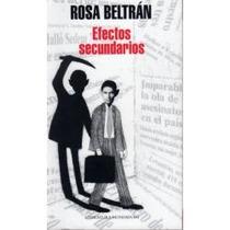 Efectos Secundarios - Rosa Beltrán (envío Gratis) Sp0