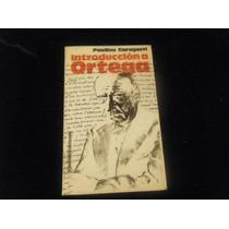 Libro Garagorri - Introduccion A Ortega Mp0 Envio Gratis