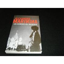 Libro Alexandra Marinina Crimenes Del Balneario Novela Mp0