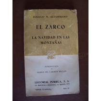 El Zarco-navidad En Las Montañas-au-im.altamirano-porrúa-vbf