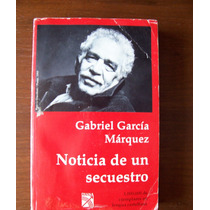 Noticia De Un Secuestro-aut-gabo García Márquez-diana-vbf