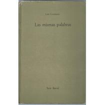 Libro Las Mismas Palabras / Luis Goytisolo 1963