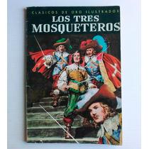 Libro Ilustrado Los Tres Mosqueteros Editorial Novaro 1975