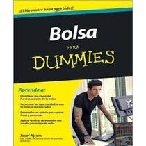 Bolsa Para Dummies De Josef Ajram Pdf + Regalo