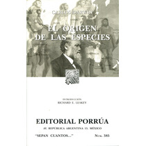 Origen De Las Especies, El - Carlos Darwin