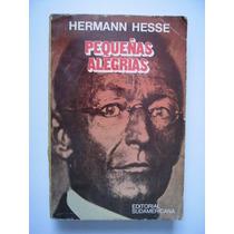 Pequeñas Alegrías - Hermann Hesse - 1979 - Vbf
