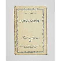 Jane Austen Persuasion Libro Importado Edicion 1943
