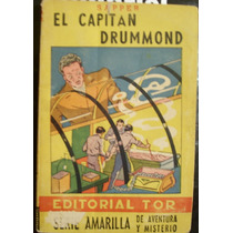 El Capitan Drummond, Libro Antiguo 1947