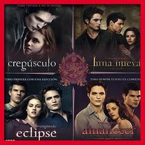 Coleccion Saga 4 Audiolibros Crepusculo, Eclipse, Amanecer