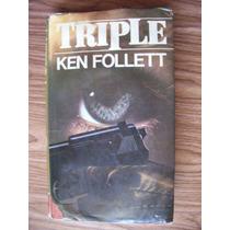 Triple-ken Follet-350pág-p.dura/cubierta-c.de Lectores-hm4