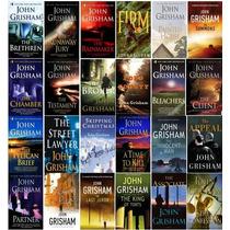 Libros John Grisham Varios. Pelicano, Intermediario, Jurado
