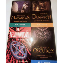 H.p. Lovecraft, Combo 4 Libros, El Necronomicon Y Masrelatos