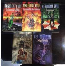 Novelas Resident Evil *libros De S. D. Perry-timunmas