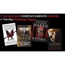 Hannibal Lecter - Thomas Harris Saga+regalo El Silencio De