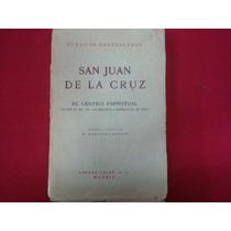 105.san Juan De La Cruz, El Cántico Espiritual