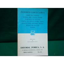 Federico García Lorca, Libro De Poemas.