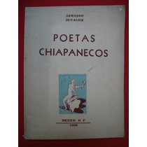 Armando Duvalier, Poetas Chiapanecos