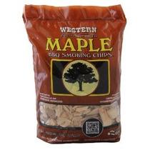 Western 28067 Maple Chips Barbacoa Fumadores