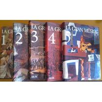 Libros La Gran Música 5 Tomos Asuri De Ed España 1978 Nuevos
