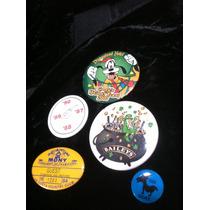 Set De 5 Botones De Coleccion