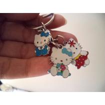 Hello Kitty Precioso Llavero De Dijes Acero Inoxidable 0159