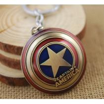 Llavero Dije Capitán América Avengers Vengadores Marvel