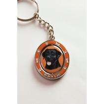 Llavero Labrador Negro - Acero Inoxidable - Hermoso!
