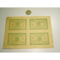 4 Billetes Antiguos 1937 Murcia Totana Guerra Civil 50 Ctmo