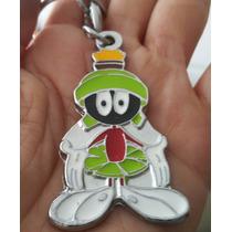 Marvin Extraterrestre Precioso Llavero Metalico Warner 1121