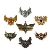 League Of Legends - Set De 7 Medallas - Lol