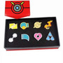 Pokemon - Medallas De Lideres De Gimnasio De Hoenn Pin Badge