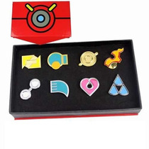 Pokemon - Medallas De Lideres De Gimnasio De Hoenn Pin Badge