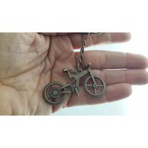 Bicicleta Cobre Precioso Llavero Metalico Bicicleta 0970