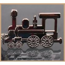 Tren Locomotora Fino Y Elegante Llavero Metálico 0181