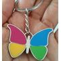Mariposa Precioso Llavero Metalico Mariposa 1139