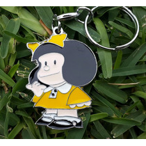 Mafalda Quino Precioso Llavero Metalico Mafalda 0999