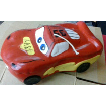 Cars Rayo Mac Queen Vela Para Pastel
